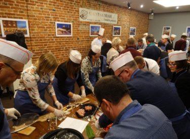 Warsztaty kulinarne PZU w Starym Kinie